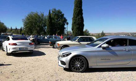 Autokrator Mercedes-Benz patrocina la concentración nacional de Mercedes clásicos