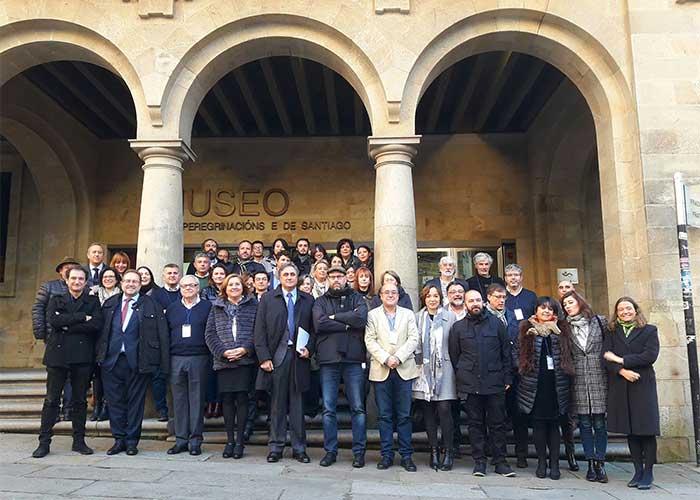 Las Ciudades Patrimonio analizan sus planes de gestión en un encuentro con presencia municipal en Santiago de Compostela