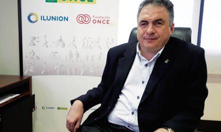 Carlos Javier Hernández Yebra, Delegado Territorial de la ONCE en Castilla-La Mancha