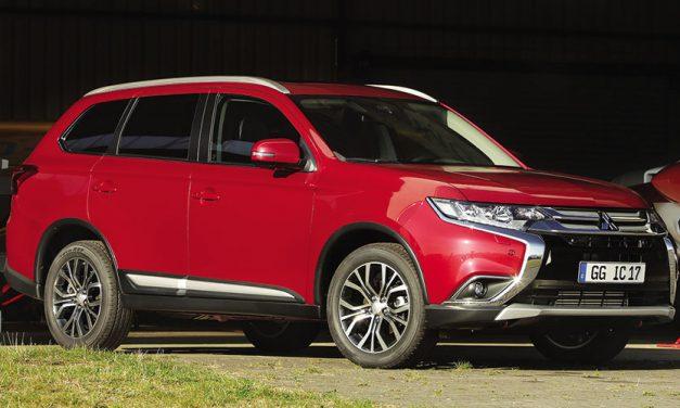 Mitsubishi Outlander gasolina con 7 plazas