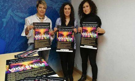 Este miércoles comienzan las actividades de concienciación social y prevención de la violencia machista con motivo del 25 de noviembre