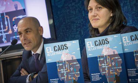 El Ayuntamiento de Toledo y Tagus lanzan una campaña para concienciar sobre el problema de las toallitas húmedas