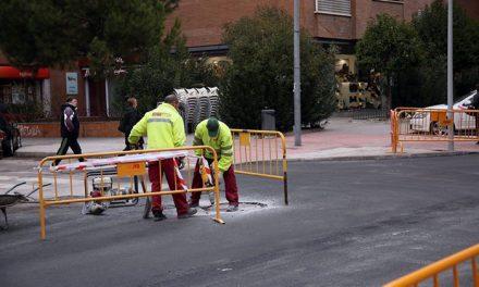 El Plan de Asfaltado y la renovación de luminarias en el barrio de Santa Teresa avanza conforme a la previsión inicial del proyecto