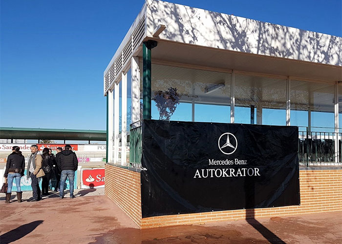 Autokrator presenta el Clase X, el primer pick up de Mercedes-Benz en el Concurso de Salto Territorial Hípica de Toledo