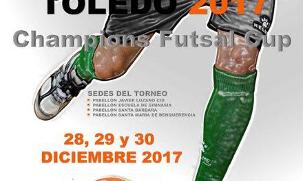 Más de 500 participantes se dan cita en la segunda edición de la Champions Futsal Cup que se celebra en Toledo del 28 al 30