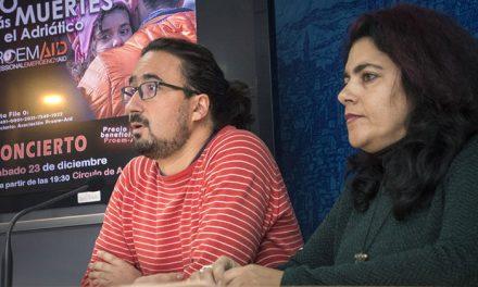 La Campaña 'Solidaridad 365+1' cierra el año con un concierto a beneficio de Proem-Aid para erradicar las muertes en el Adriático