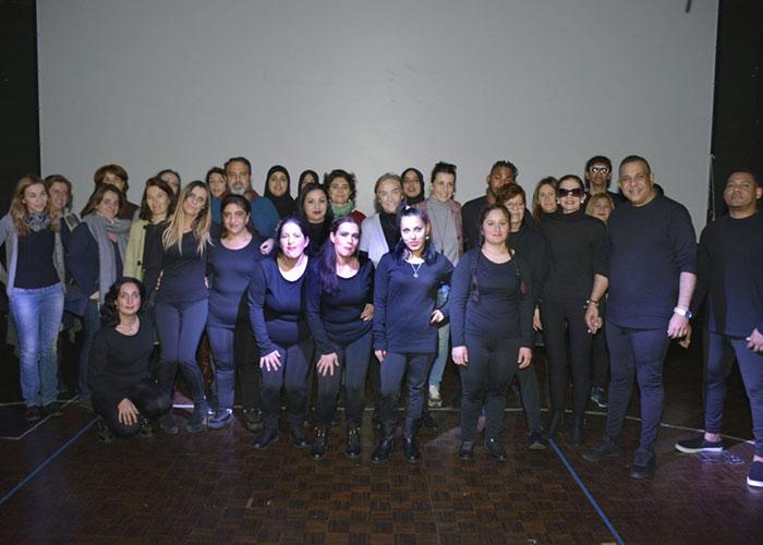 """El """"Coro en Movimiento"""" pone fin al Taller de Educación Social """"Motiv-Arte"""", en el que han participado 21 personas"""