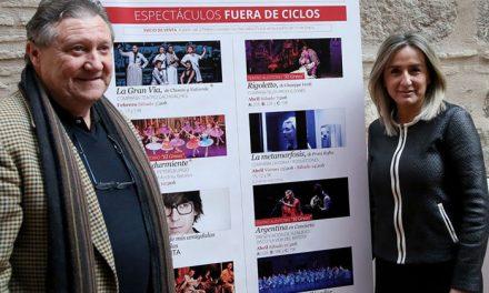 Milagros Tolón destaca la proyección cultural del Teatro de Rojas que contempla casi un centenar de representaciones hasta junio