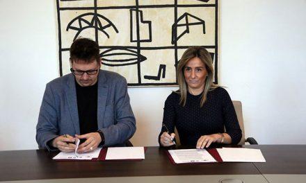 Ayuntamiento y CECAP firman un convenio para que alumnos con discapacidad desarrollen sus prácticas en el Consistorio
