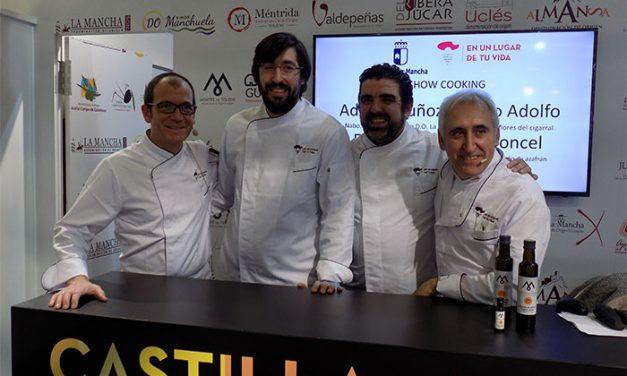 Los reputados chefs Adolfo Muñoz y Enrique Pérez inauguran las sesiones de showcooking en FITUR 2018