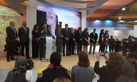 Gran ambiente y acogida de la jornada inaugural de FITUR donde se ha celebrado el Día de Toledo