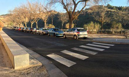 El Plan de Asfaltado mejora la seguridad vial en el Casco Histórico con más pasos de peatones y adecuación de los ya existentes