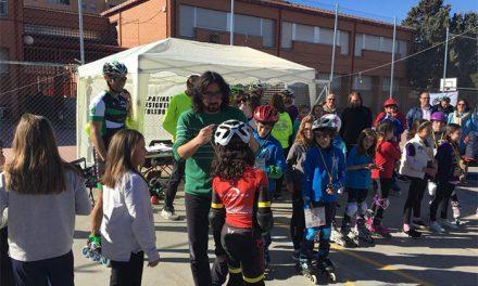 La VIII Carrera Roller Toledo reúne en el Colegio Juan de Padilla a numerosos participantes