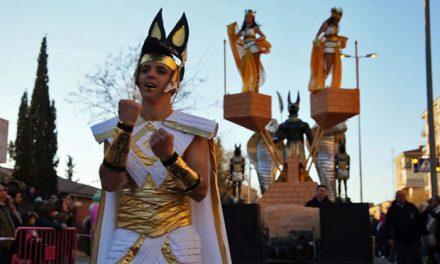 'Egipto, Tierra de Dioses' se hace con el primer premio del gran Desfile del Carnaval de Toledo 2018