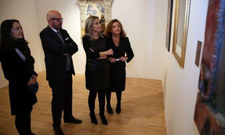 Milagros Tolón inaugura en San Marcos la exposición #M17-Murillo como homenaje al artista en el IV Centenario de su Nacimiento