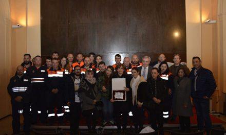 La Agrupación de Protección Civil homenajea la figura de su compañero fallecido Rigoberto Orozco con un acto en San Marcos