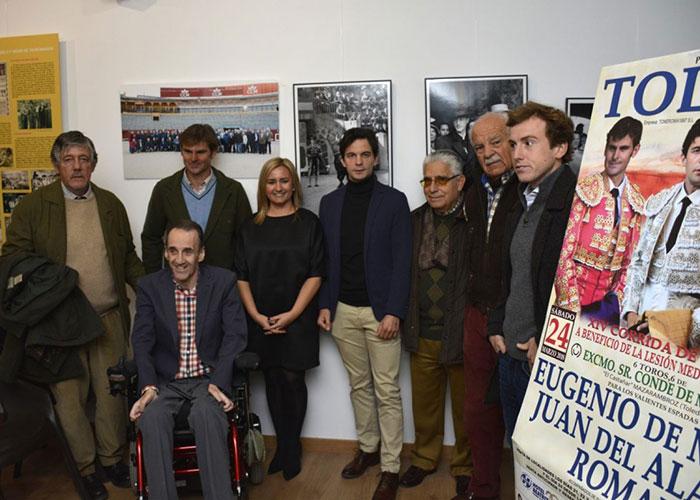 Presentación de la XIV Corrida de Toros a beneficio de Aspaym que se celebrará en Toledo el próximo 24 de marzo