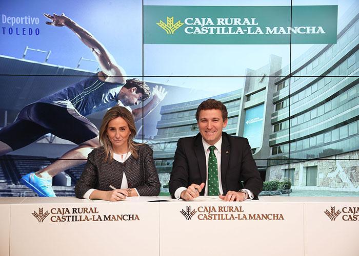 El Ayuntamiento y Caja Rural Castilla-La Mancha renuevan su colaboración para las actividades del Patronato Deportivo