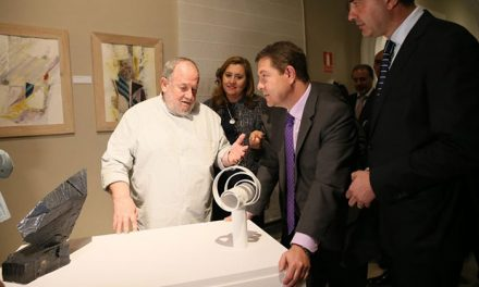 """El Gobierno local, presente en la exposición """"Arte entre dos siglos"""", del artista toledano Luis Pablo Gómez Vidales"""