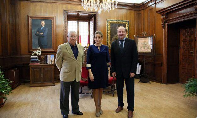 La alcaldesa cierra para el próximo mes de mayo el III Congreso Internacional de Seguridad y Telecomunicaciones en Toledo
