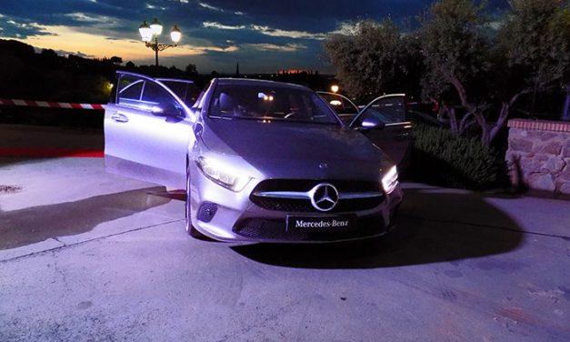 Noche de glamour en Toledo con el chef Pepe Rodríguez. Autokrator presenta el nuevo Mercedes 'Clase A'