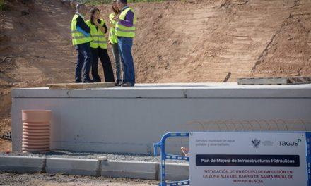 El Ayuntamiento de Toledo y Tagus acometen nuevas mejoras en las instalaciones de bombeo e impulsión de agua potable