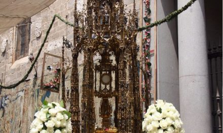 El próximo 21 de mayo salen a la venta las sillas de la procesión del Corpus en la Casa del Mapa y en Internet