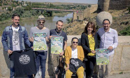 Poncho K, cabeza de cartel del Festival 'Tajo Rock Remember', que se reedita para alzar la voz y luchar por la agonía del río toledano