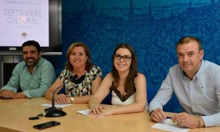 El Septiembre Cultural volverá a hacer de Toledo una ciudad viva, dinámica y llena de vida con propuestas de todo tipo cada semana
