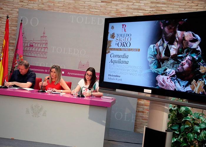 """La alcaldesa ensalza los ocho espectáculos """"de primer nivel"""" que acogerá la XXVI Muestra de Teatro Clásico del Teatro de Rojas"""