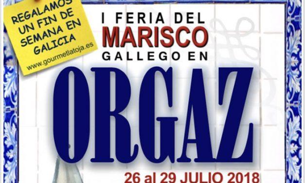 I Feria del Marisco Gallego en Orgaz