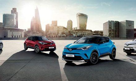 Gama 2019 de Toyota C-HR Hybrid