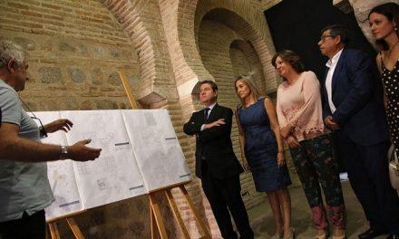 """Milagros Tolón destaca que los hallazgos arqueológicos en la Mezquita de Tornerías """"incrementan el valor patrimonial de Toledo"""""""