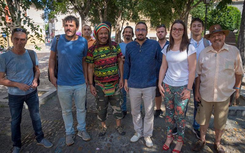 La Ordenanza de Arte en la Calle logra el consenso de artistas y Ayuntamiento con 16 escenarios y espacios en el Casco Histórico