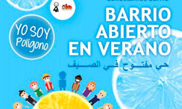 El Ayuntamiento impulsa el IV Barrio Abierto de Verano en el marco del Proyecto de Intervención Intercultural en el Polígono