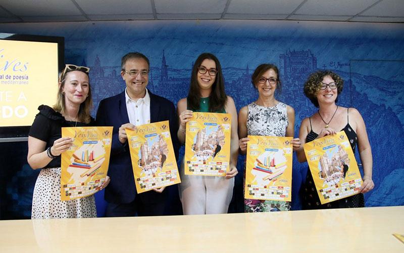 El Festival Internacional de Poesía Voix Vives conecta con las culturas del Mediterráneo, las artes plásticas y la juventud toledana