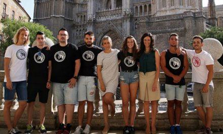 Milagros Tolón comparte con los jóvenes del 'Spartans Street Workout' su interés por el deporte y avanza más pistas en Toledo