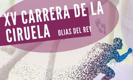 Carrera de la Ciruela 2018 en Olías del Rey
