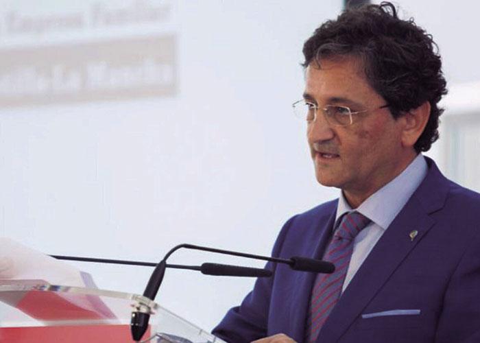 Aurelio Vázquez, Presidente de la Asociación de la Empresa Familiar de Castilla-La Mancha