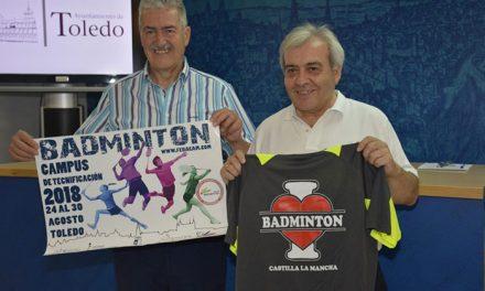 Toledo acoge desde hoy hasta el 30 de agosto el Campus de Tecnificación de Bádminton en que participarán figuras como Pablo y Javier Abián