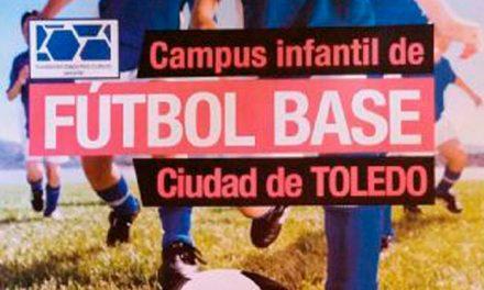 El próximo día 29 comienza el cuarto turno del Campus Infantil de Fútbol Base 'Ciudad de Toledo' que cuenta con el apoyo municipal