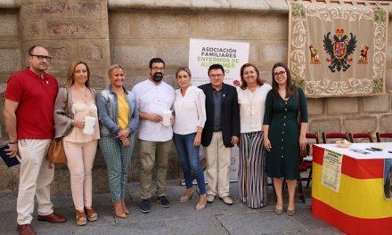 La alcaldesa respaldó la cuestación de la Asociación de Familiares de Enfermos de Alzheimer en el marco de su Día Internacional