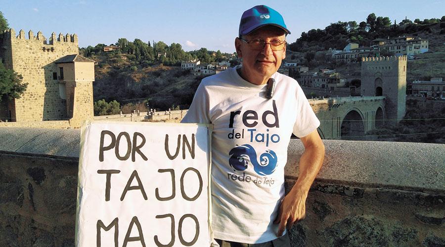Alejandro Cano, Presidente de la Plataforma en Defensa del Tajo de Toledo