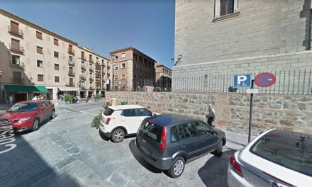 El dispositivo de tráfico de Luz Toledo contempla un aparcamiento para vehículos con tarjeta de discapacidad junto al hotel Alfonso VI