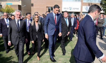 """La nueva planta de Reig Jofre confirma que Toledo """"crece y reúne las condiciones para que las empresas generen empleo y riqueza"""""""
