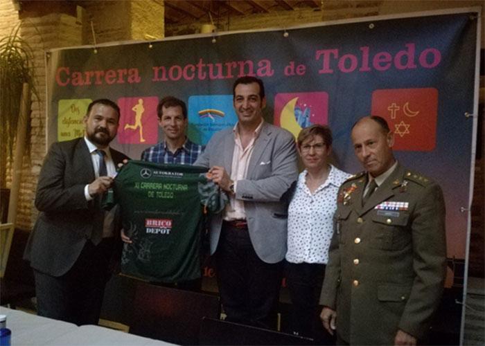 Autokrator patrocina La Carrera Nocturna de Toledo