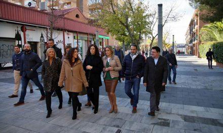 La alcaldesa inaugura la remodelación integral del Paseo Federico García Lorca, centro neurálgico y vecinal del barrio del Polígono