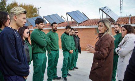 La renovación del sistema térmico del campo de fútbol del Polígono supondrá hasta un 70 por ciento de ahorro energético y económico