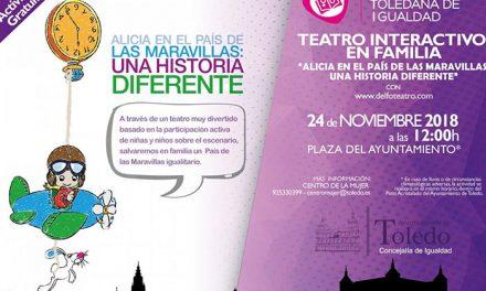 La Plaza del Ayuntamiento acogerá el próximo sábado 24 de noviembre un teatro interactivo gratuito para familias