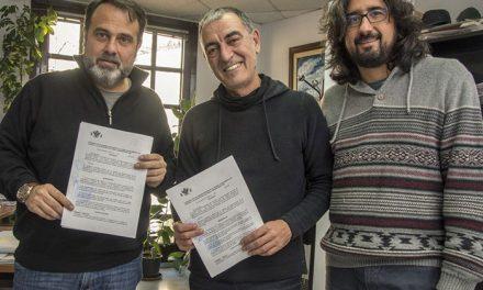El Ayuntamiento firma nuevos convenios con Matadero Lab y Onda Polígono para la promoción de actividades juveniles